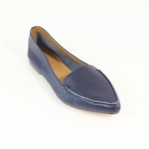 J. Crew Leather Loafer Women Flat Edie Slip on